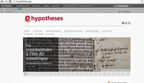 CaptureHypotheses.org